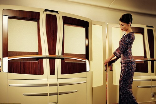 Singapore Luxurious Airline Cabins