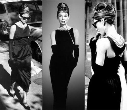 Audrey Hepburn's The Little Black Dress