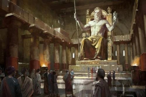 Statue of Zeus, Greece