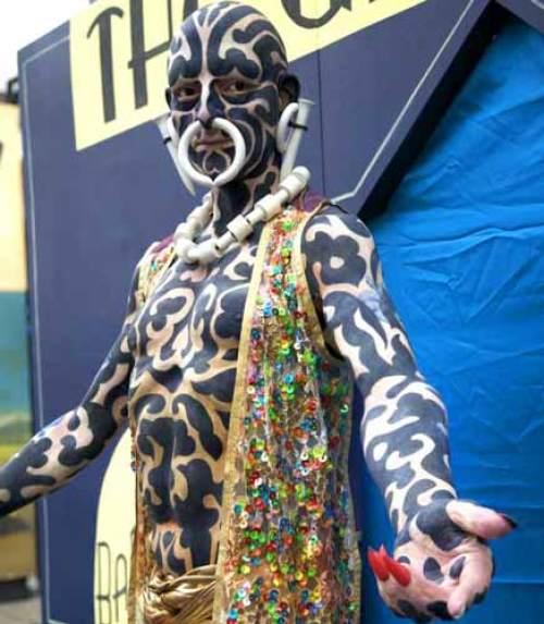 Zebra man