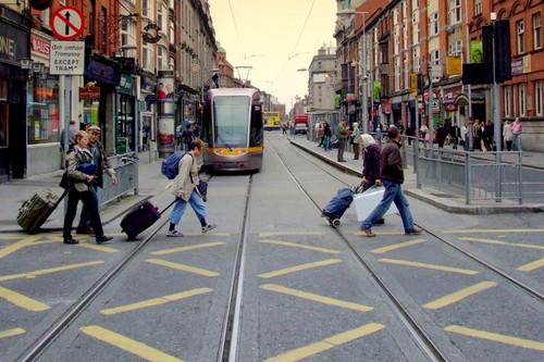Abbey Street, Dublin, Ireland