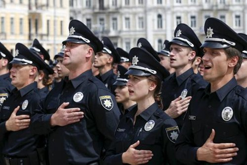 highly trained police forces