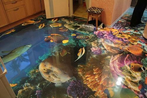 Fish Ocean Floor