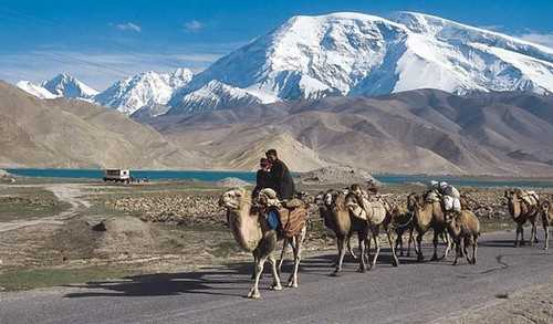 Chinese province of Xinjiang