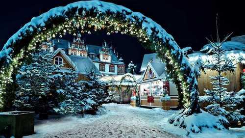 Christmas Market Copenhagen, Denmark