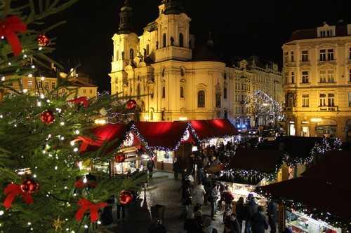 Christmas Market Prague, Czech Republic
