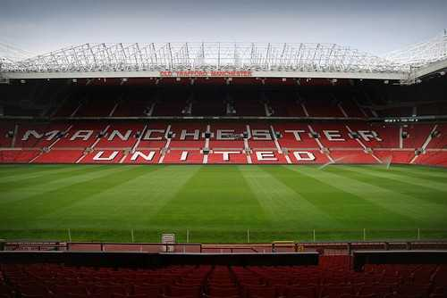 Old Trafford inside