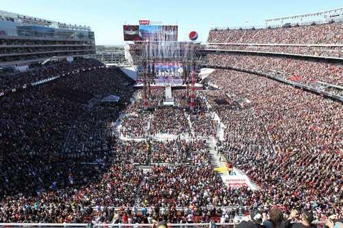 WrestleMania Stadiums