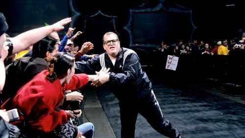 Drew Carey in Royal Rumble PPV