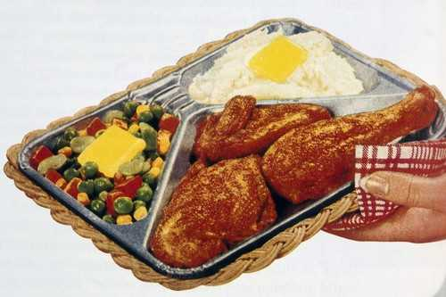 Thanksgiving gave birth to TV dinners