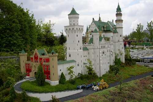 The largest Lego castle