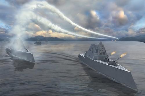USS Zumwalt - 2008