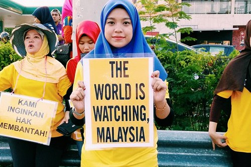 Malaysia Banned Yellow Clothing
