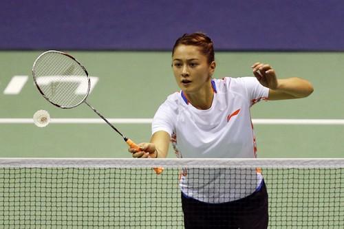 Gronya Somerville, poster girl for badminton
