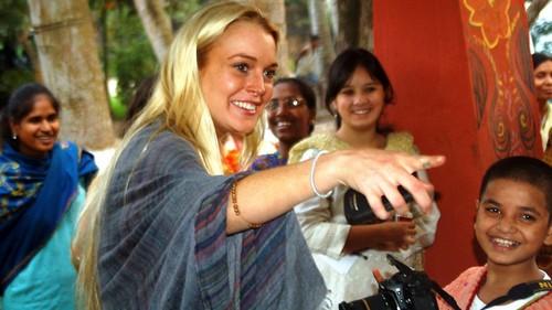 Lindsay Lohan Humanitarian Work