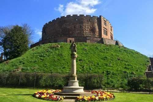 Tamworth Castle - Staffordshire, England