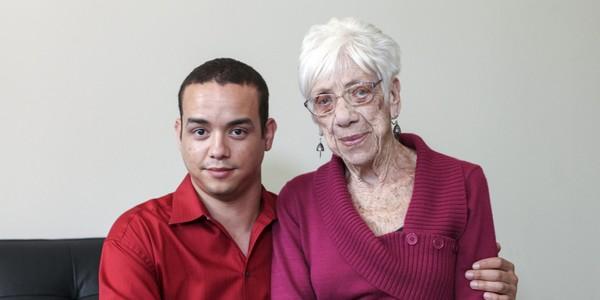 Kyle Jones and Marjorie McCool