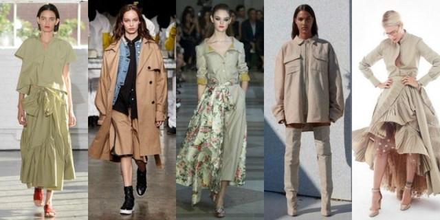 Khaki shades ummer 2017 trends