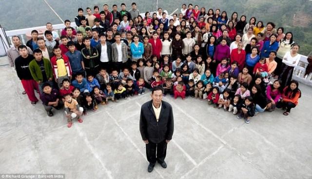 The Chana Family (1 Man 39 Wives)