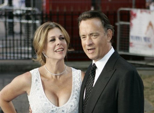 Tom Hanks and wife Rita Wilson Most Down to Earth Hollywood Celebrities