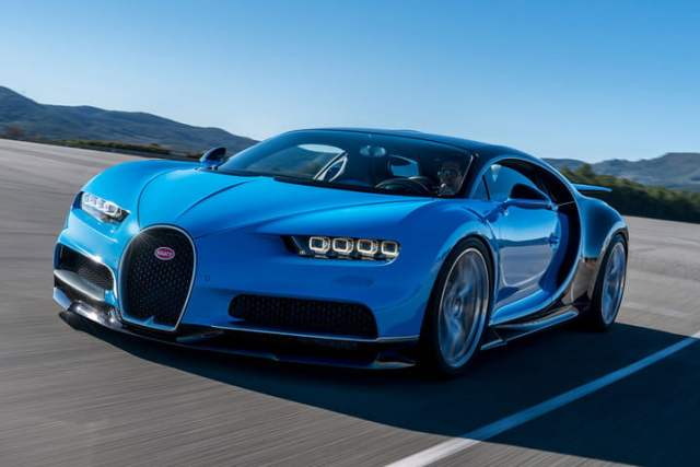 Bugatti Chiron Most Expensive Cars in the world