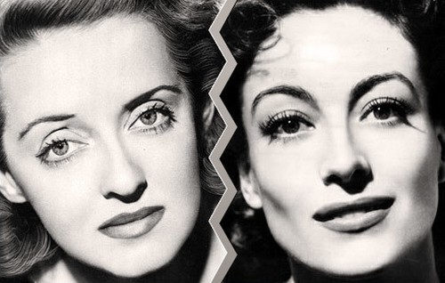 Bette Davis and Joan Crawford
