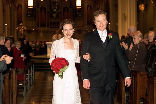 Conan O'Brien's Wedding Photo