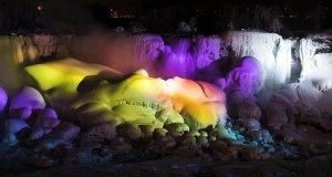 Niagara Falls comes to a halt AGAIN