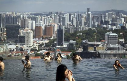 Infinity Pool at Marina Bay Sands