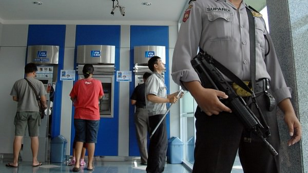 Most risk of fraud in Indonesia