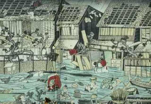 Genroku Earthquake – 1703