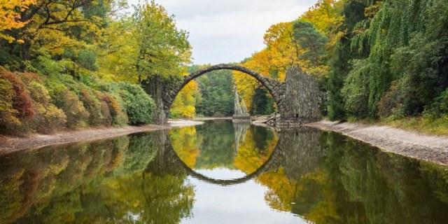 Rakotzbrucke Bridge, Germany