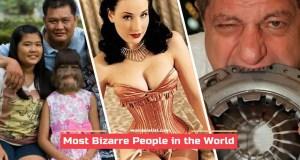 Most Bizarre People
