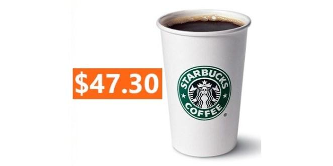 Starbucks Quadriginoctuple Frap