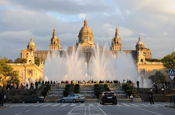 Magic Fountain of Montjuic (Barcelona, Spain)