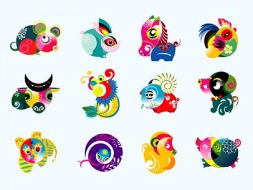 Chinese Zodiac Sheng Xiao