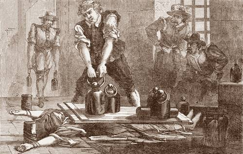 Pressing-Gruesome Ancient Torture Methods