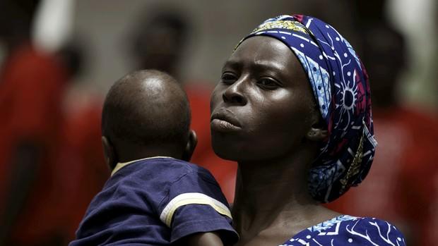 Nigeria poor woman