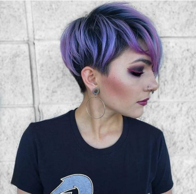 Purple Hair Ideas 2019