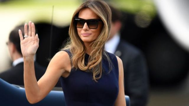 Hottest First Lady Melania Trump.
