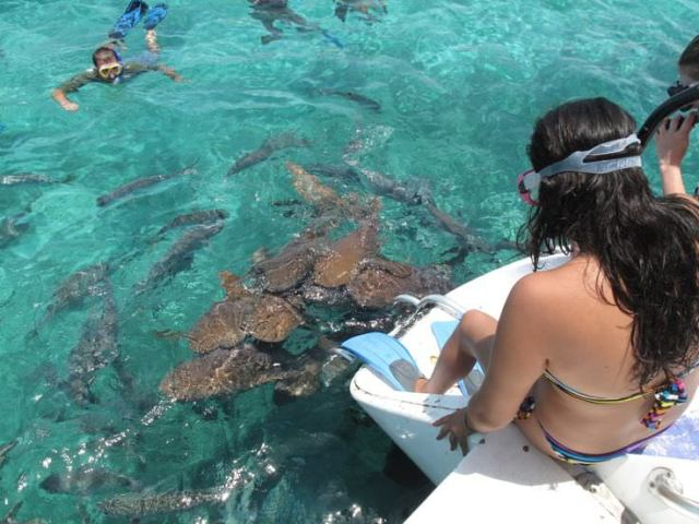 Ambergris Caye, Belize places with crystal clear water