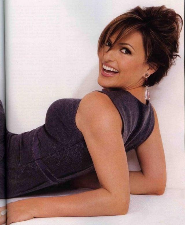 Mariska Hargitay Hottest Curvy Celebrities