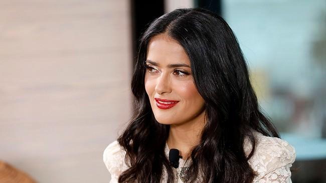 SalmaHayek Hollywood Aged Celebrities