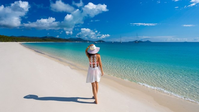Whitehaven Beach, Breathtaking Places on Earth