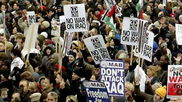 15 February 2003 anti-war protests