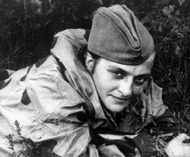 Major Lyudmila Pavlichenko