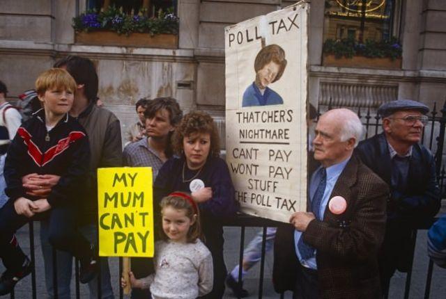 Poll Tax Riots, March 31st 1990