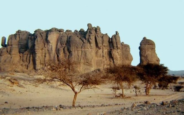 The Tibesti Massif beautiful places to visit in Africa
