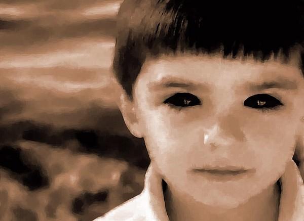 Black eyes Scariest Texas Urban Legends