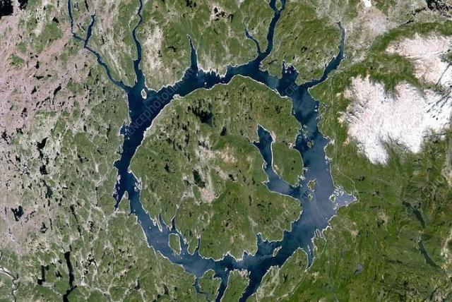 Manicouagan Reservoir, Canada